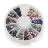 12의 혼합 모양 바퀴 3D 못 예술 장비 더 작풍 및 색깔 Avaiable