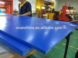 PVC trasparente Sheet di Blue per Vacuum Forming