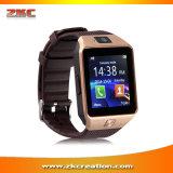 Cartão da sustentação SIM TF do relógio Dz09 Smartwatch de Bluetooth para o Ios Android