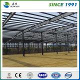 Fabricación del almacén de la estructura de acero
