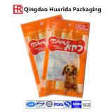 Sacchetti su ordine di imballaggio per alimenti del cane con la chiusura lampo