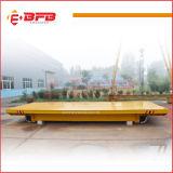 De elektrische Wagen van de Behandeling van de Industrie Gebruik Gemotoriseerde die in Staalfabriek wordt gebruikt