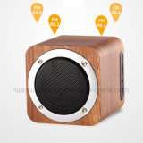 Mini altavoz de madera de Bluetooth