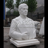 Buste blanc de Carrare pour le cadeau Ms-2001