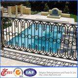 Puder-überzogener dekorativer bearbeitetes Eisen-Pool-Zaun