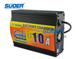 Suoer Неуправляемые Fast зарядное устройство 220V DC Intelligent Battery Charger 24V 10A (MA-2410A)