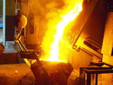 Kgps 알루미늄 중간 주파수 유도 가열 녹는 로 500kw