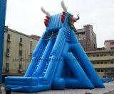 Corrediça de água inflável da corrediça inflável do dragão da casa do salto da classe comercial para a venda