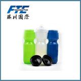 Bottiglia di acqua di plastica di sport di marchio su ordinazione in 750ml