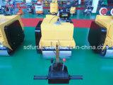 Rullo compressore vibratorio pedonale del doppio timpano idraulico da vendere (FYL-S600C)
