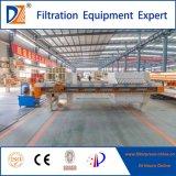 Filtre-presse de membrane pour le traitement d'eaux d'égout d'industrie