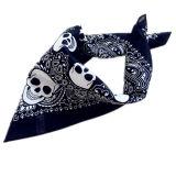 顧客用カスタマイズされたデザイン頭骨によって印刷される昇進の綿のバイカーはバンダナのヘッドバンドを遊ばす