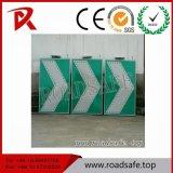 Muestras reflexivas rectoras solares del tráfico de aluminio de los símbolos de la luz del parpadeo de la muestra de la señal de tráfico de Roadsafe