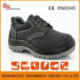 Ботинки безопасности нефтедобывающей промышленности ботинок безопасности стального пальца ноги работая