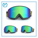 Glaces de Snowmobile de lunetterie de sports d'enduit de Revo avec l'anti bande de glissade