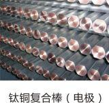 Elettrodo placcato bimetallico Rod bottaio/del titanio