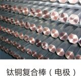 Bimetallische Titan-/Fassbinder-plattierte Elektrode Rod
