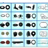 Various Size and Colors Silicone Rubber Door Gasket