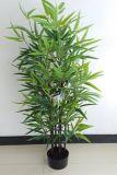 Migliori piante artificiali di vendita di bambù folto nero QS-A041s6-Z1296