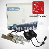 Верхний яркий набор фары Heatsink 8000lm СИД запасных частей медный без вентилятора 5202 H11 9005 9006 9012