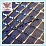 Расширенная нержавеющей сталью сетка металла