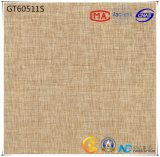 600X600 Tegel van de Vloer van Absorptie 1-3% van het Bouwmateriaal de Ceramische Donkere Grijze (GT60510+60511) met ISO9001 & ISO14000