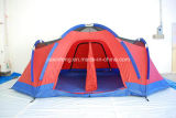2 Raum-Familien-kampierendes Zelt mit doppelter Schicht