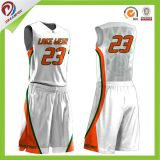 Nuevos jerseys del baloncesto del diseño del club de la insignia de encargo de las personas para las ventas