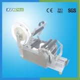 Máquina de etiquetado de la etiqueta de cuidado del satén de la buena calidad Keno-L102