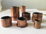 Rolamento de roda bimetálico de bronze envolvido para as peças do motor