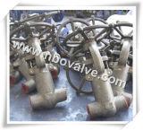 Estremità Welding Compact Steel Gate Valve (codice categoria 4500)
