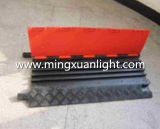 Alta calidad 5 rampas al aire libre del manguito del protector de goma del cable del canal