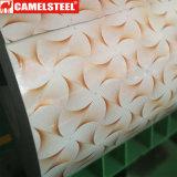 Bobinas prepintadas decorativas del metal del material para techos de la buena calidad PPGI