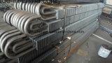 Tubo aletado doble de H, ASTM A106 GR. Tubo de acero inconsútil de B