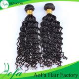 Выдвижение человеческих волос волны 100% сырцовое оптовое Unprocessed глубокое
