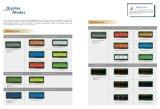 1602 carácteres/modo de visualización de color verde amarillo gráfico, precio barato blanco-azul de la visualización del LCD