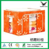 아름다운 꽃 패턴 물 증거 다중 목적 저장 상자
