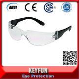 Óculos de proteção certificados Ce do ANSI dos vidros de segurança da qualidade barata & boa
