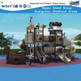 A série do navio de piratas caçoa o equipamento ao ar livre HD-131A da corrediça dos campo de jogos