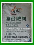 Productos químicos Formula, 15-15-15 Compuesto de fertilizantes