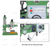 Mechanischer Radialarm-Bohrmaschine, radialbohrmaschine mit niedrigem Preis Zq3050*16