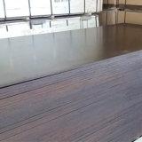 Madera de construcción Shuttering hecha frente película de la madera contrachapada de la base del álamo de Brown (18X1220X2440m m)