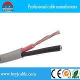 Isolamento flessibile del PVC del cavo piano di Rvvb, un collegare di 3 memorie