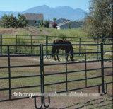 農場の使用の一時牛塀および馬の塀