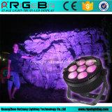 Свет РАВЕНСТВА 64 7X25W Rgbwy 5in1 наивысшей мощности СИД напольный