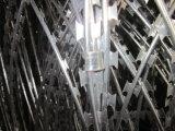 De heet-ondergedompelde Gegalvaniseerde Draad Q195 10kgs/Roll van het Scheermes van het Concertina