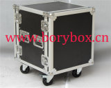 Caso de transporte de aluminio con la guarnición negra de EVA (BEL-3609)