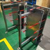 Marco del acero inoxidable 304/316L y cambiador de calor sanitario de la placa de la junta del refrigerador de placa de la placa