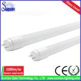 indicatore luminoso del tubo di vetro T8 LED di 0.6m 9W 100lm/W