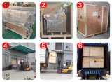 Machine à emballer de carte SIM de tube/en aluminium carrée en aluminium automatique de profil à vendre